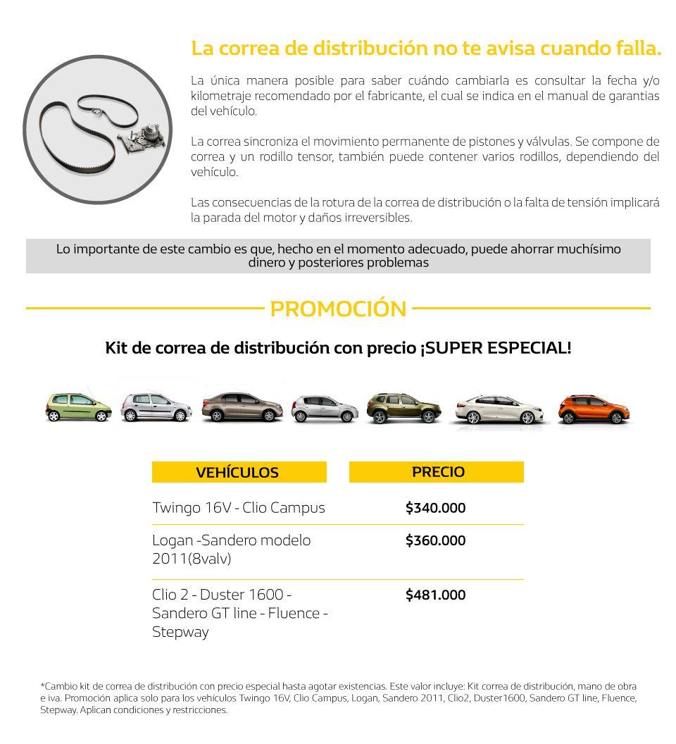 Cambio De Correas Renault Medellin Concesionario